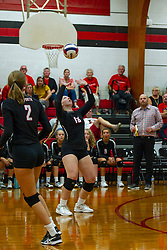 24 September 2019:    Dee Mack Chiefs at Heyworth Hornets Girls Volleyball at Heyworth Illinois