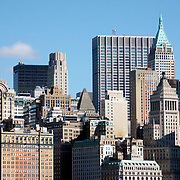 Lower Manhattan facade cityscape