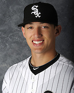 GLENDALE, AZ - MARCH 03: Trayce Thompson of the Chicago White Sox poses for his official team headshot during photo day on March 3, 2012 at The Ballpark at Camelback Ranch in Glendale, Arizona. (Photo by Ron Vesely)   Subject:   Trayce Thompson