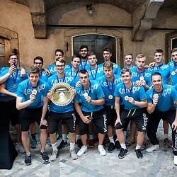20180730: SLO, Handball - EHF U20 Men European Championship 2018, Reception of winning Team Slovenia