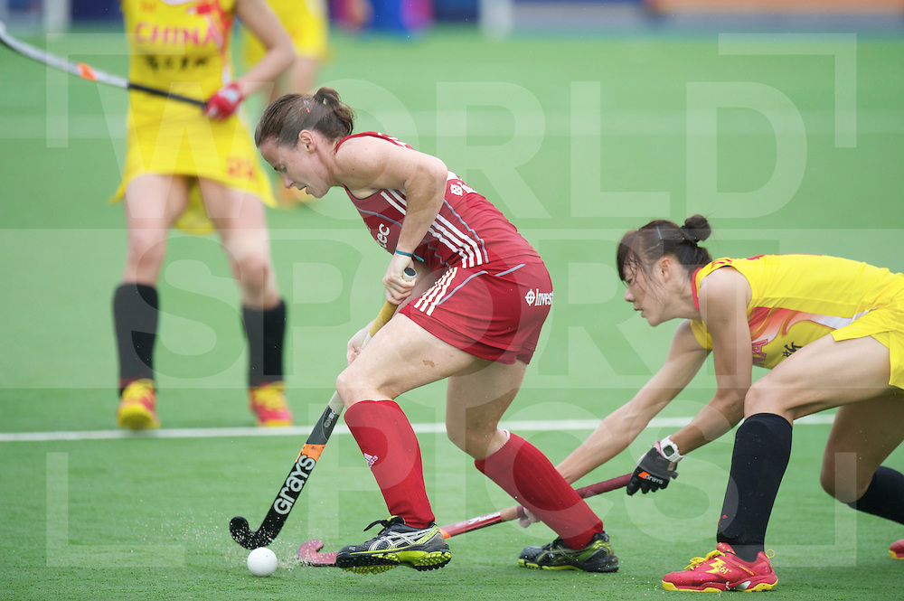 ROSARIO - Champions Trophy hockey women.China v Great Britain.foto: Sarah Thomas..FFU Press Agency  COPYRIGHT FRANK UIJLENBROEK..