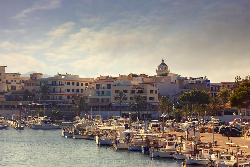 Yachthafen Cala ratjada, Mallorca, Spanien