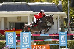 SZASZ Sándor, Moosbachhofs Goldwing<br /> FEI European Jumping Championship -  2011<br /> (c) www.sportfotos-Lafrentz. de/Stefan Lafrentz