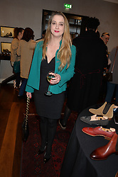 DAISY DE VILLENEUVE at a party to launch the Gaziano & Girling Ladies Collection held at Gaziano & Girling, 39 Savile Row, London on 5th April 2016.