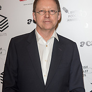 Mark Kermode attend the Annual award ceremony celebrating the best British podcasts. Supported by Sony Music's on 19 May 2018 at King's Place, London, UK.