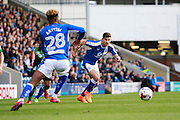 Chesterfield's Ched Evens (9) during the EFL Sky Bet League 1 match between Chesterfield and Scunthorpe United at the b2net stadium, Chesterfield, England on 22 October 2016. Photo by Richard Holmes.