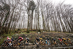 Peloton at Metlika during the cycling race 5th Grand Prix Adria Mobil, on April 7, 2019, in Slovenia. Photo by Vid Ponikvar / Sportida