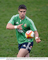 10 June 2013; Conor Murray, British & Irish Lions, during the captain's run ahead of their game against Combined Country on Tuesday. British & Irish Lions Tour 2013, Captain's Run, Number 2 Sports Ground, Newcastle, NSW, Australia. Picture credit: Stephen McCarthy / SPORTSFILE