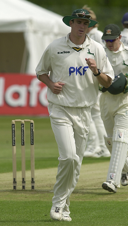 2003 - Cricket - Frizzell County Championships Div 1. Sussex CCC v Nottinghamshire CCC.21/05/03 - Photo Peter Spurrier..Kevin Pietersen.. [Mandatory Credit:Peter SPURRIER/Intersport Images]