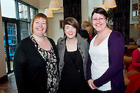 Edel Burke, Boston Scientific , Choir Masters, Lisa Seary , Something to Sing About and Ruth McElinn Kelly HP at the launch of  Launch of Choirfactor 2014' which takes place in the Radisson Blu Hotel, Galway on Friday 11th April 2014. Photo:Andrew Downes