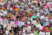 The Women's March on Washington the day after the inauguration of Donald J. Trump generated record numbers of protesters in the US. These images are from New York, where an estimated 400-500.000 marched.