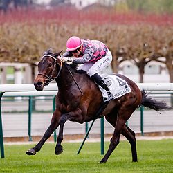 La Canche (T. Piccone) wins Prix Du Musee Rodin in Longchamp, France 08/04/2018, photo: Zuzanna Lupa