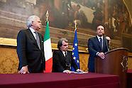 Consultations: Popolo della Liberta' press conference