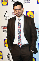 Simon Bird, British Comedy Awards, Fountain Studios, London UK, 16 December 2014, Photo by Richard Goldschmidt