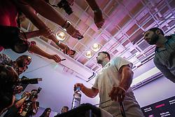 """Treino aberto para imprensa e convidados com os  lutadores Antonio """"Pezão"""", Frank Mir, Edson Barboza e Michael Johnson . FOTO: Jefferson Bernardes/ Agência Preview"""