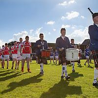 Parade before the Senior Football final