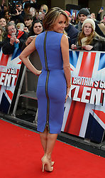 Britain's Got Talent. Amanda Holden arrives to Britain's Got Talent at Hammersmith Apollo. Hammersmith Apollo, London, United Kingdom. Thursday, 13th February 2014. Picture by Peter Kollanyi / i-Images
