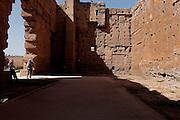 MAROC, Marrakesh: palais el Badiaa