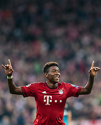 04.11.2015, Allianz Arena, Muenchen, GER, UEFA CL, FC Bayern Muenchen vs FC Arsenal, Gruppe F, im Bild Torjubel David Alaba (FC Bayern) // during the UEFA Champions League group F match between FC Bayern Munich and FC Arsenal at the Allianz Arena in Munich, Germany on 2015/11/04. EXPA Pictures © 2015, PhotoCredit: EXPA/ JFK