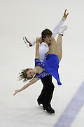 06 Aug 2009: Stephanie Zastrow of the St. Paul Figure Skating Club and Michael Lueck of the Burnsville Minn Valley Figure Skating Club skate in the Senior Free Dance at he 2009 Lake Placid Ice Dance Championships in Lake Placid, N.Y.    © Todd Bissonette
