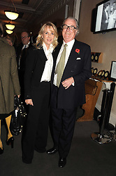 LORD & LADY BELL at a party to celebrate the publication of 'Past Imperfect' by Julian Fellowes held at Cadogan Hall, 5 Sloane Terrace, London SW1 on 4th November 2008.