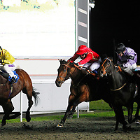 New Rich and George Downing winning the 8.15 race