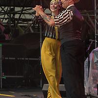 Roddy Caravella and dancers