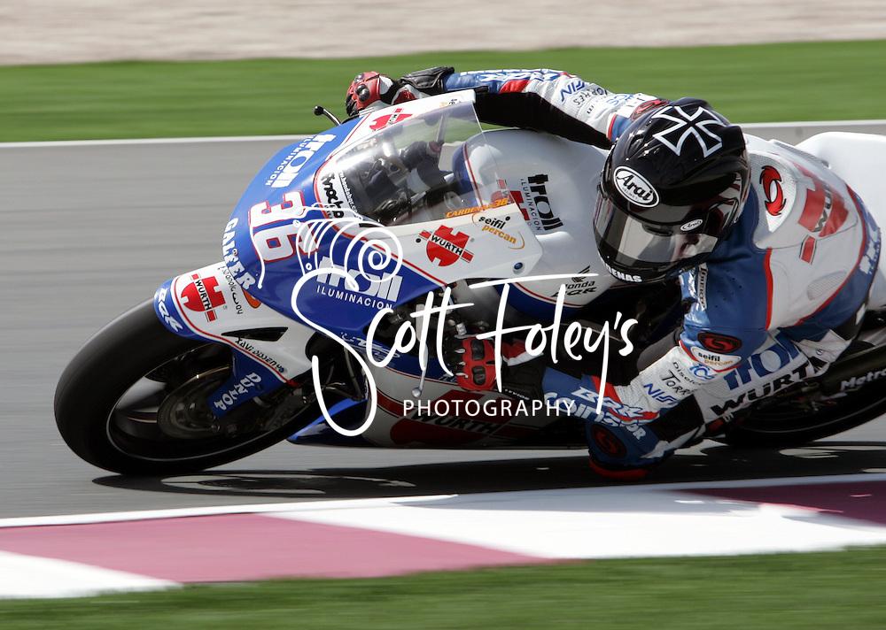Martin Cardenas, COL, 250cc, MOTO GP, Commercial Bank Grad Prix, Losail International Circuit, 8 Apr 06