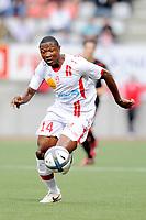 FOOTBALL - FRENCH CHAMPIONSHIP 2010/2011 - L1 - AS NANCY LORRAINE v STADE RENNAIS - 14/08/2010 - PHOTO GUILLAUME RAMON / DPPI - PAUL ALO'O EFOULOU (ASNL)