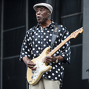 WASHINGTON, DC - July 4, 2015 - Rock and Roll Hall of Fame inducteeBuddy Guy performs  at the Foo Fighters 20th Anniversary Blowout at RFK Stadium in Washington, D.C. (Photo by Kyle Gustafson / For The Washington Post)