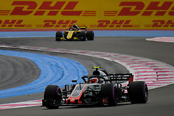 June 23, 2018 - Le Castellet, Var, France - Haas 20 Driver KEVIN MAGNUSSEN (DEN) in action during the Formula one French Grand Prix at the Paul Ricard circuit at Le Castellet - France. (Credit Image: © Pierre Stevenin via ZUMA Wire)