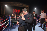 March 13, 2014. STAMP Event Management production for Rocky on Broadway Opening Night Party. Roseland Ballroom, NYC. Photography credit: Margarita Corporan (Guest Sylvester Stallone)