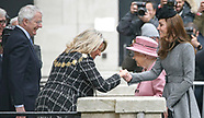 Queen Elizabeth & Kate Middleton Visit King's College
