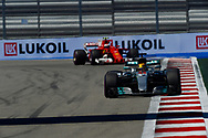 Lewis Hamilton of Mercedes AMG Petronas en route to coming fourth in the Russian Formula One Grand Prix at Sochi Autodrom, Sochi, Russia.<br /> Picture by EXPA Pictures/Focus Images Ltd 07814482222<br /> 30/04/2017<br /> *** UK & IRELAND ONLY ***<br /> <br /> EXPA-EIB-170430-0329.jpg