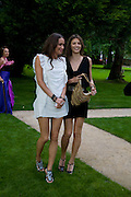 SASHA VOLKOVA AND GENIE SLYUSAREMKO, Raisa Gorbachev Foundation Party, at the Stud House, Hampton Court Palace on June 7, 2008 in Richmond upon Thames, London,Event hosted by Geordie Greig and is in aid of the Raisa Gorbachev Foundation - an international fund fighting child cancer.  7 June 2008.  *** Local Caption *** -DO NOT ARCHIVE-© Copyright Photograph by Dafydd Jones. 248 Clapham Rd. London SW9 0PZ. Tel 0207 820 0771. www.dafjones.com.