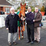 Words Come Easy and winning connections for the 2.30 race