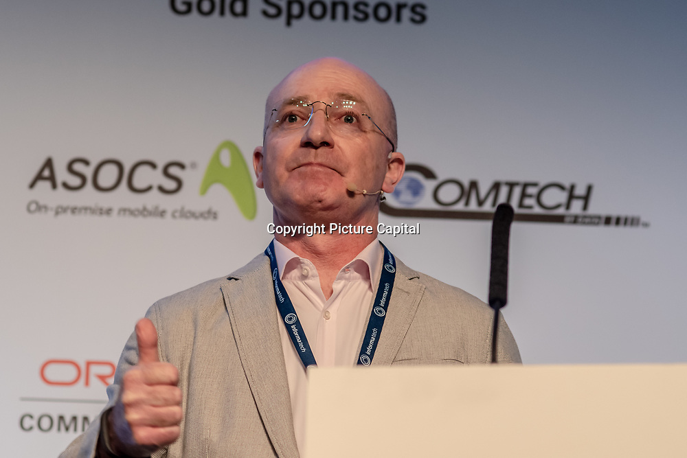 Speaker Stephane Teral at 5G World Day Two at Excel London,on 12 June 2019, UK.
