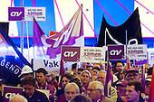 Demonstratie Nationaal Beraad - demonstration against government