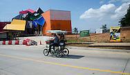 Registro de avance de la obra del Biomuseo, Punte de vida, Panamá City.©Victoria Murillo/istmophoto.com Registro de avance de la obra del Biomuseo, Punte de vida, Panamá City.©Victoria Murillo/istmophoto.com