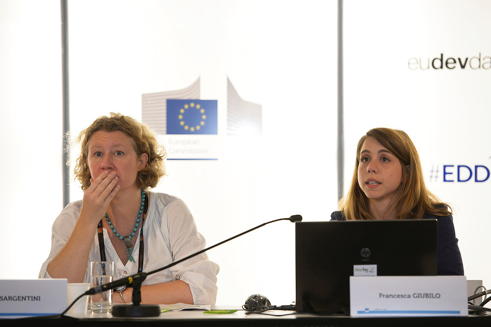 03 June 2015 - Belgium - Brussels - European Development Days - EDD - Trade - Empowering smallholders participation in global supply chains - Shivani Reddy , Policy officer - Judith Sargentini,<br /> Member of EP &copy; European Union