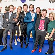 NLD/Amsterdam/20170328 - Uitreiking Tv Beelden 2017, Beau van Erven Dorens en zijn team