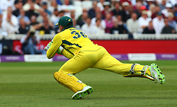 June 13, 2018 - London, England, United Kingdom - Tim Paine of Australia drop England's Jos Buttler .during One Day International Series match between England and Australia at Kia Oval Ground, London, England on 13 June 2018. (Credit Image: © Kieran Galvin/NurPhoto via ZUMA Press)