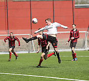 - Dundee Thistle (white) v DUMS (red and black) - Dundee Saturday Morning Football League Ross Kirk Memorial Cup Final at GA Arena<br /> <br />  - &copy; David Young - www.davidyoungphoto.co.uk - email: davidyoungphoto@gmail.com
