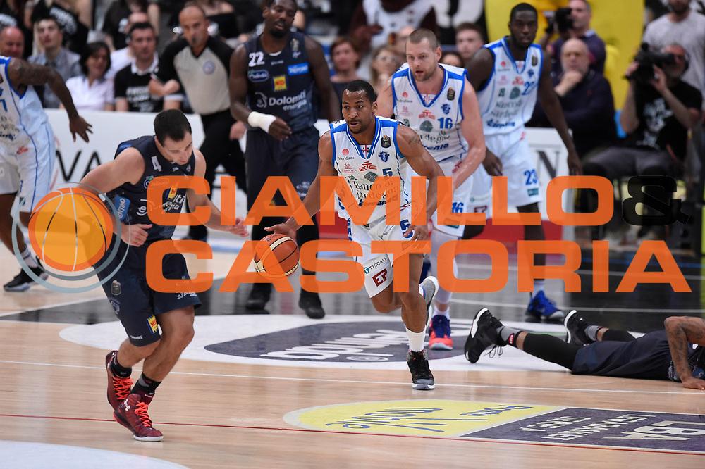 Bell David<br /> Quarti di Finale Gara 2<br /> Legabasket A 2016,2017<br /> Trento 14,05,2017<br /> Foto Ciamillo-Castoria,GiulioCiamillo
