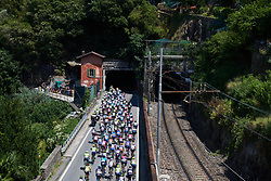 at Giro Rosa 2018 - Stage 6, a 114.1 km road race from Sovico to Gerola Alta, Italy on July 11, 2018. Photo by Sean Robinson/velofocus.com