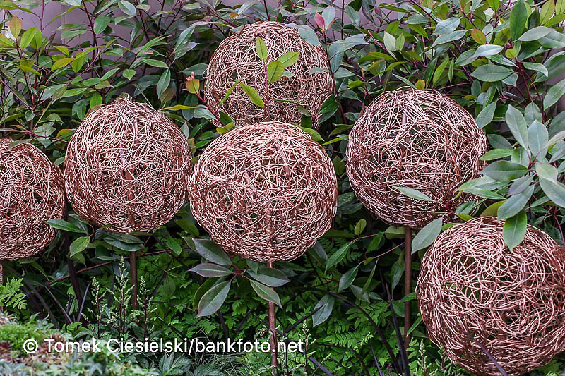 Copper decorative balls