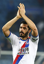 February 23, 2019 - Leicester, England, United Kingdom - Crystal Palace's James Tomkins celebrate they win.during English Premier League between Leicester City and Crystal Palace at King Power stadium , Leicester, England on 23 Feb 2019. (Credit Image: © Action Foto Sport/NurPhoto via ZUMA Press)