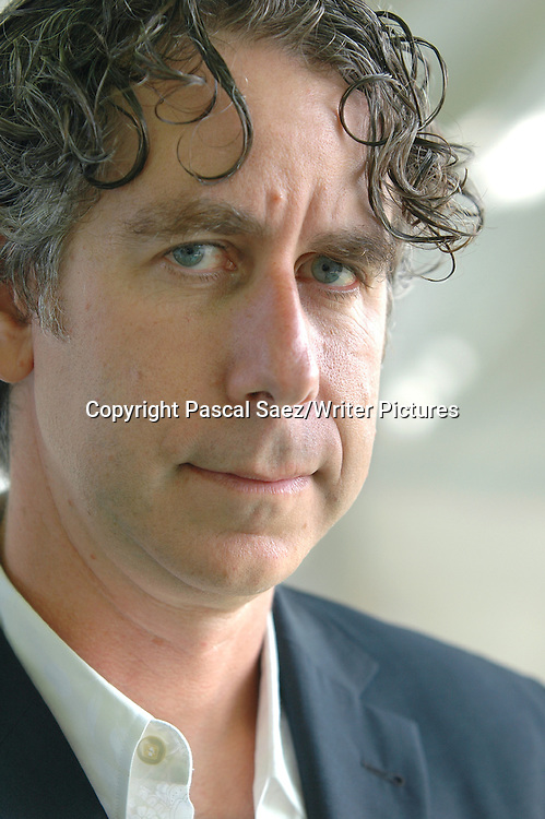 Canadian writer and filmmaker Joel Bakan  (&quot;The Corporation: The Pathological Pursuit of Profit and Power&quot;) at the Edinburgh International Book Festival 2005<br /> <br /> Copyright Pascal Saez/Writer Pictures<br /> contact +44 (0)20 822 41564<br /> sales@writerpictures.com<br /> www.writerpictures.com
