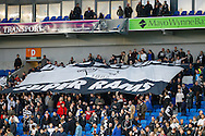 Derby County fans before the Sky Bet Championship play off semi final first leg at the American Express Community Stadium, Brighton and Hove<br /> Picture by David Horn/Focus Images Ltd +44 7545 970036<br /> 08/05/2014