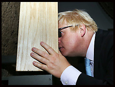 AUG 08 2014 Boris Johnson at Imperial War Museum